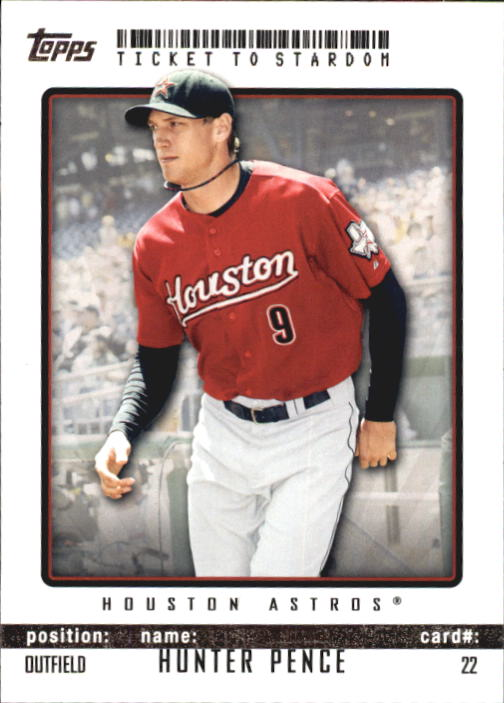 2009 Topps Ticket to Stardom #22 Hunter Pence