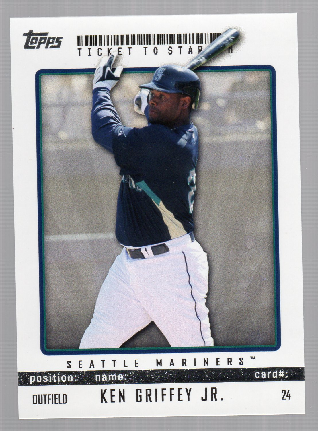 2009 Topps Ticket to Stardom #24 Ken Griffey Jr.