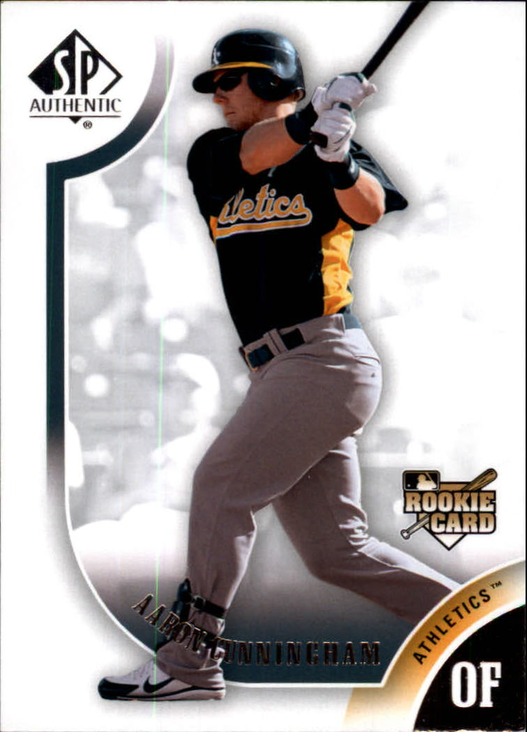 2009 SP Authentic #131 Aaron Cunningham RC