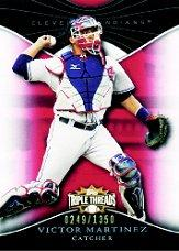 2009 Topps Triple Threads #30 Victor Martinez