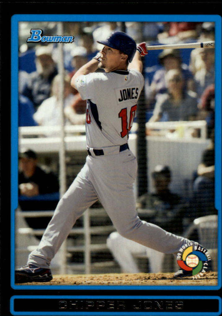 2009 Bowman Draft WBC Prospects #BDPW31 Chipper Jones