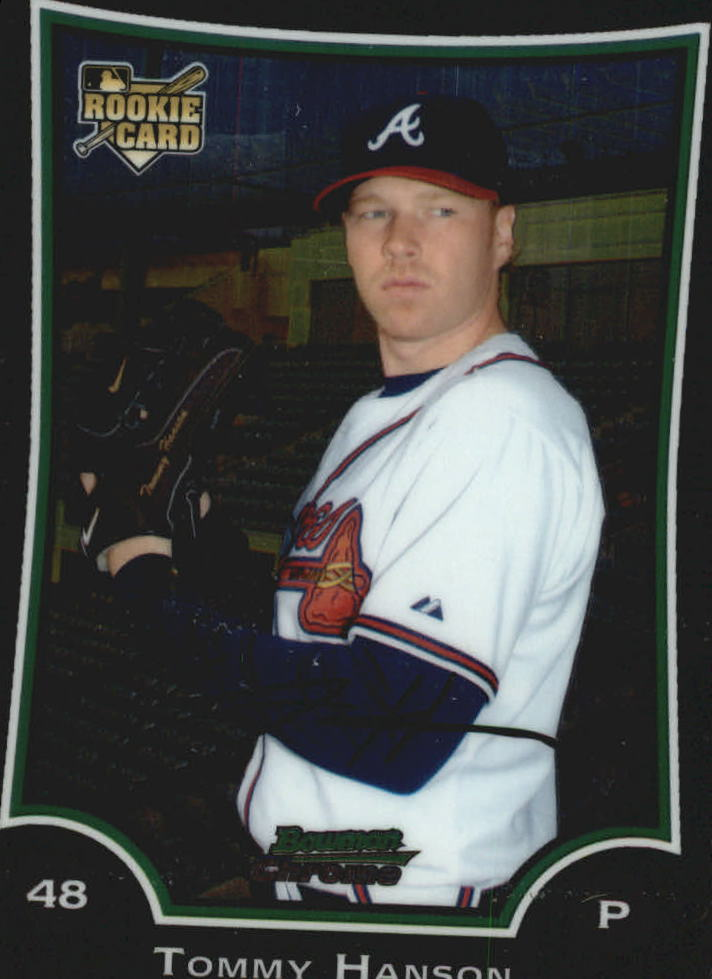 2009 Bowman Chrome Draft #BDP1 Tommy Hanson RC front image