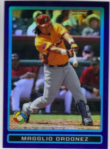 2009 Bowman Chrome Draft WBC Prospects Purple Refractors #BDPW27 Magglio Ordonez