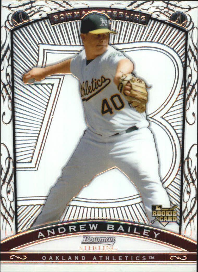 2009 Bowman Sterling #AB Andrew Bailey RC