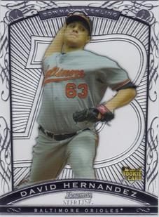 2009 Bowman Sterling #DH David Hernandez RC