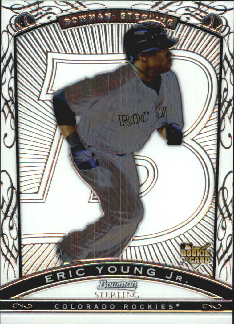 2009 Bowman Sterling #EY Eric Young Jr. RC