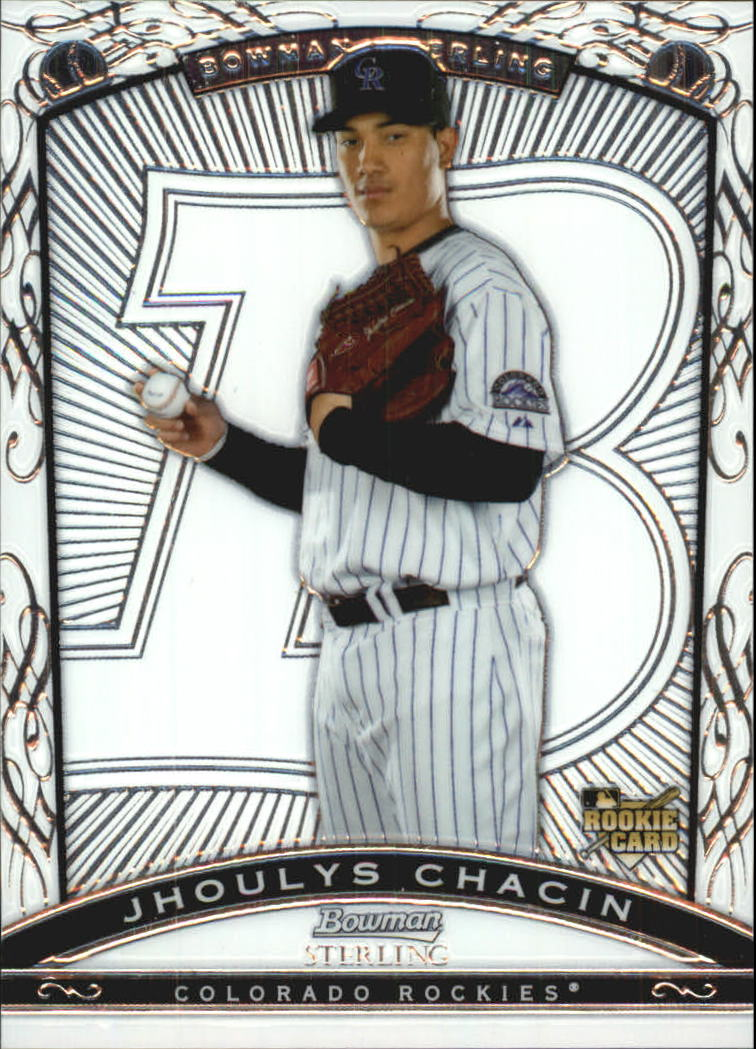 2009 Bowman Sterling #JC Jhoulys Chacin RC