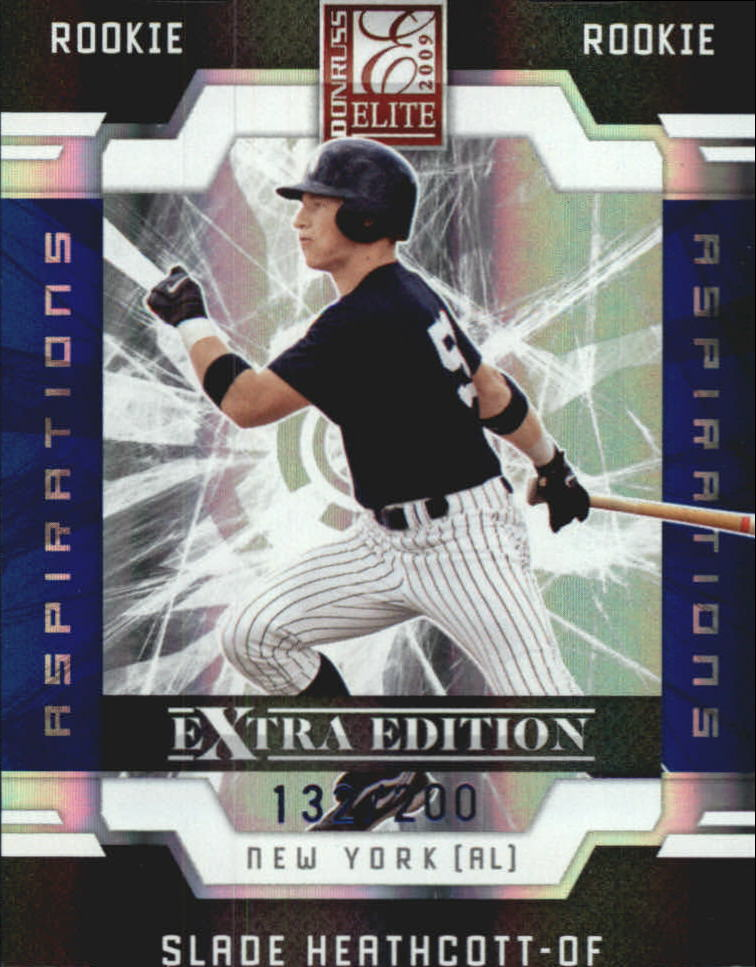 2009 Donruss Elite Extra Edition Aspirations #60 Slade Heathcott
