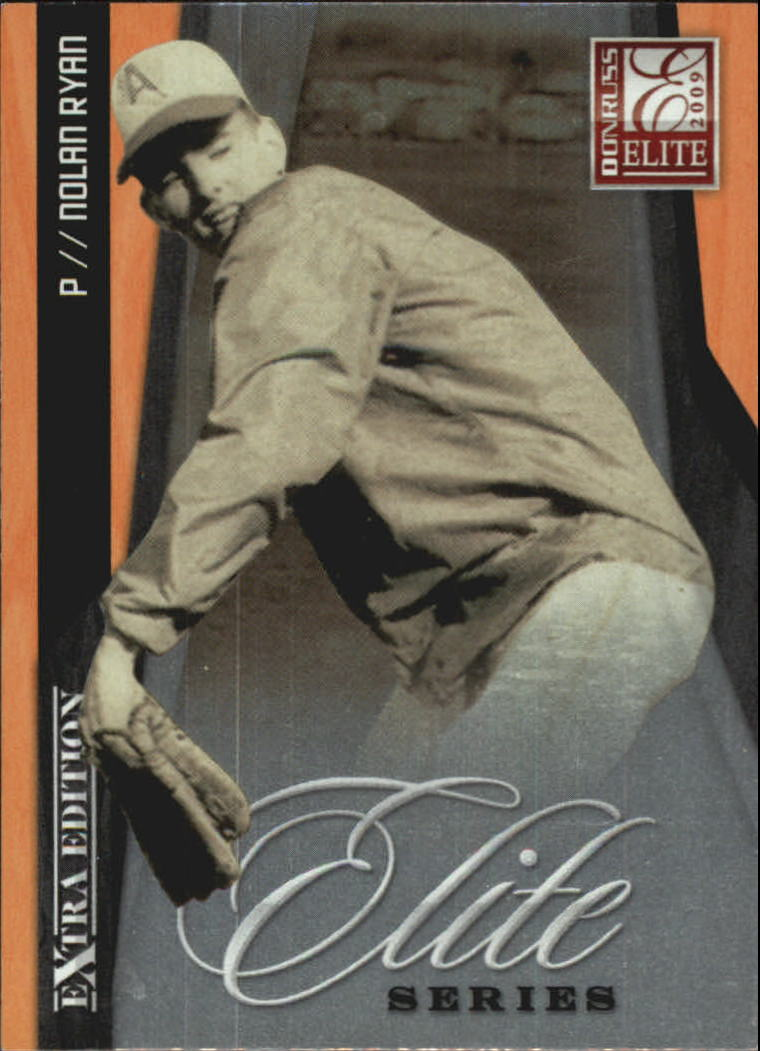 2009 Donruss Elite Extra Edition Elite Series #8 Nolan Ryan