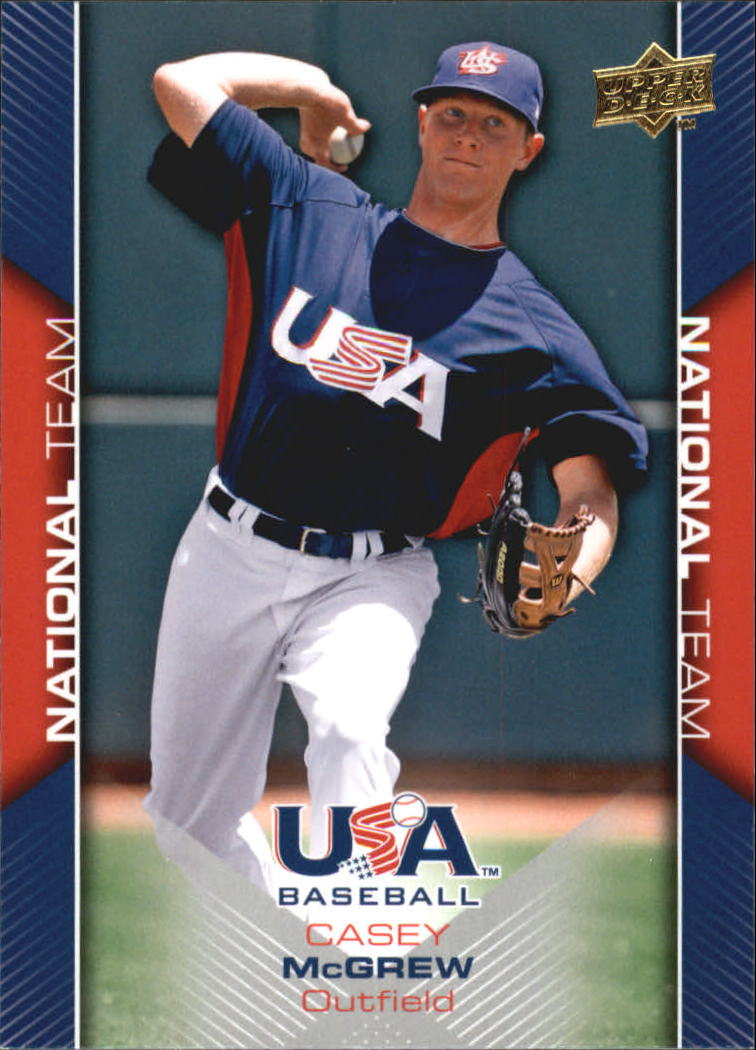 2009-10 USA Baseball #USA16 Casey McGrew