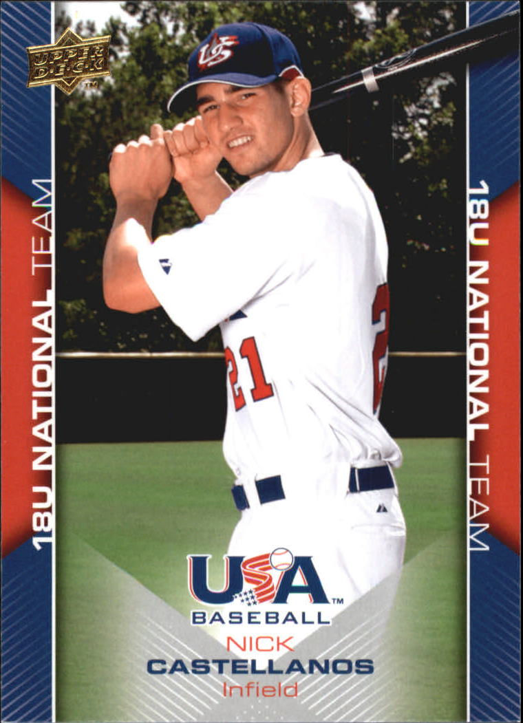 2009-10 USA Baseball #USA24 Nick Castellanos