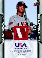 2009-10 USA Baseball #USA135 Christopher Rivera Jsy