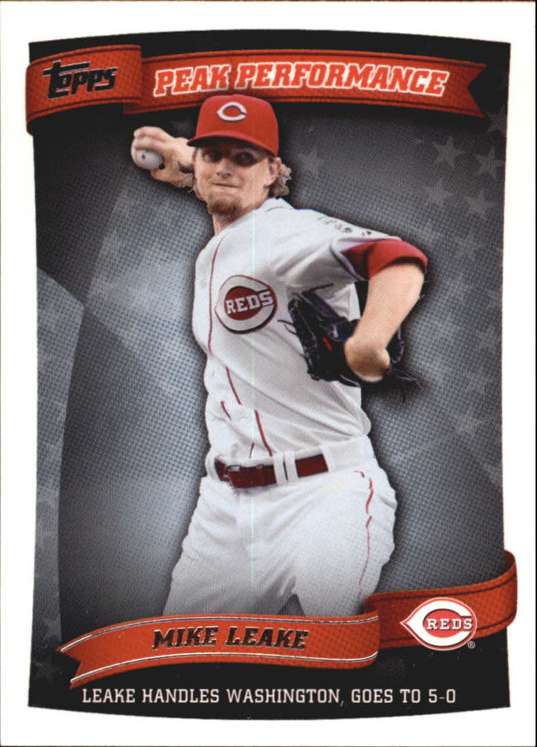2010 Topps Peak Performance #114 Mike Leake