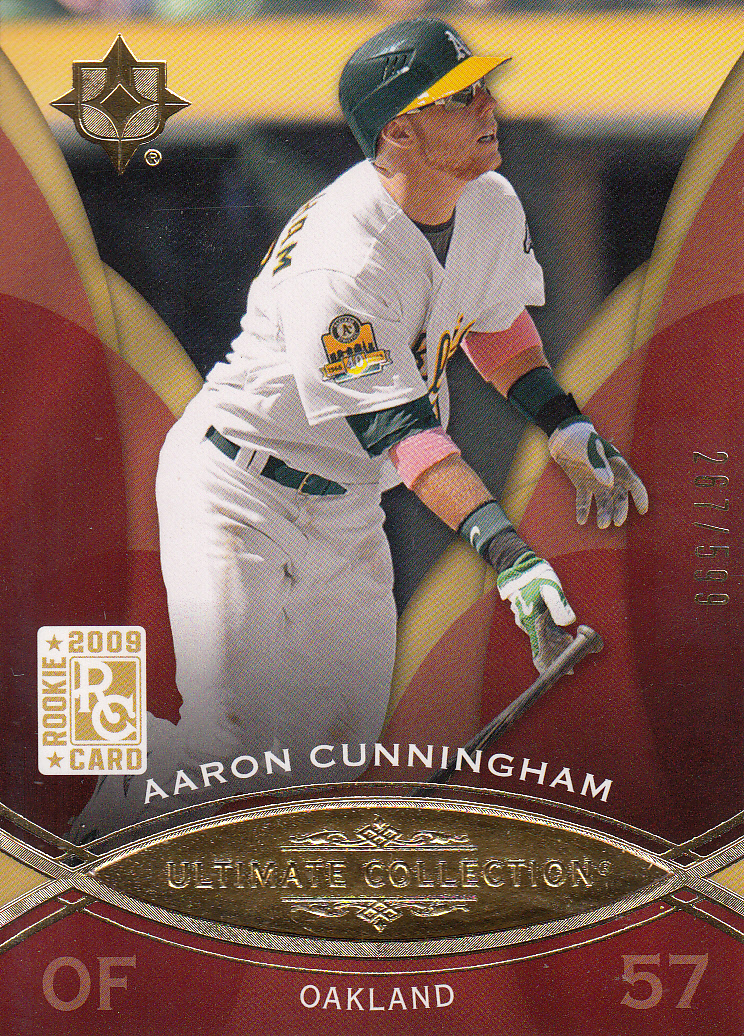 2009 Ultimate Collection #68 Aaron Cunningham RC