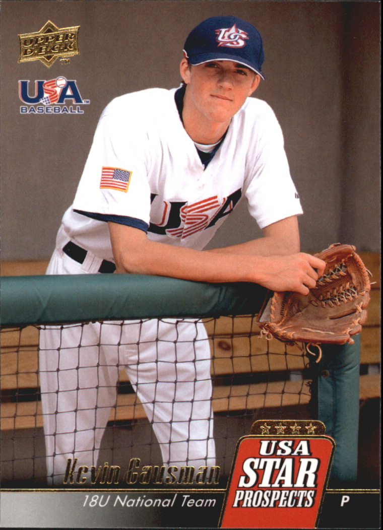 2009 Upper Deck Signature Stars USA Star Prospects #USA6 Kevin Gausman