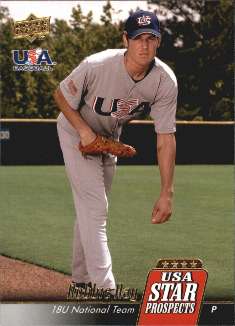 2009 Upper Deck Signature Stars USA Star Prospects #USA15 Robbie Ray