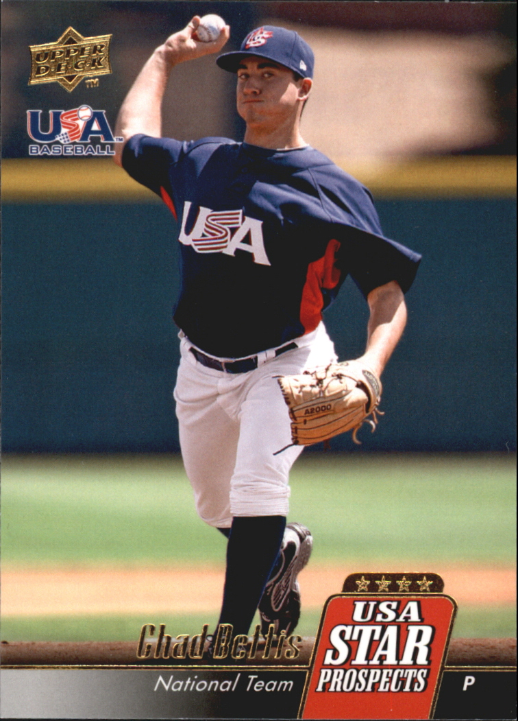 2009 Upper Deck Signature Stars USA Star Prospects #USA22 Chad Bettis