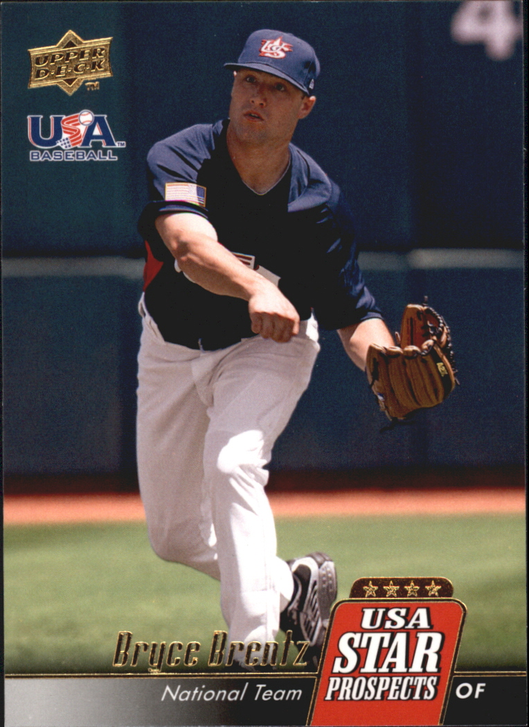 2009 Upper Deck Signature Stars USA Star Prospects #USA23 Bryce Brentz