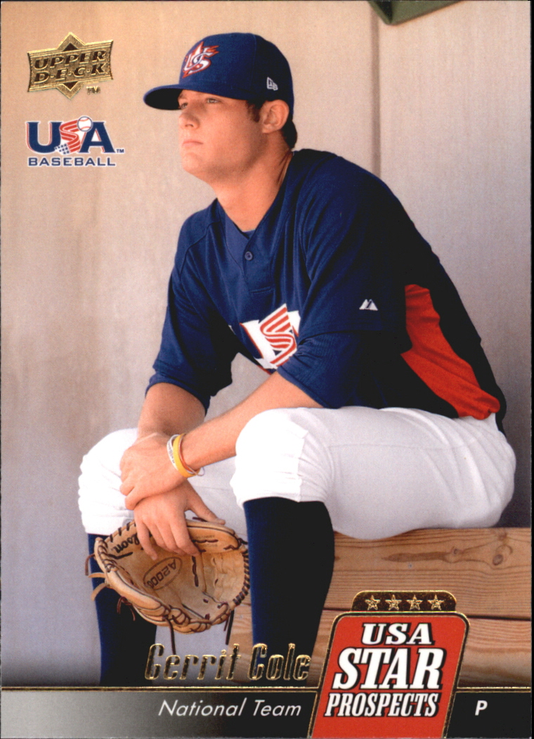 2009 Upper Deck Signature Stars USA Star Prospects #USA25 Gerrit Cole