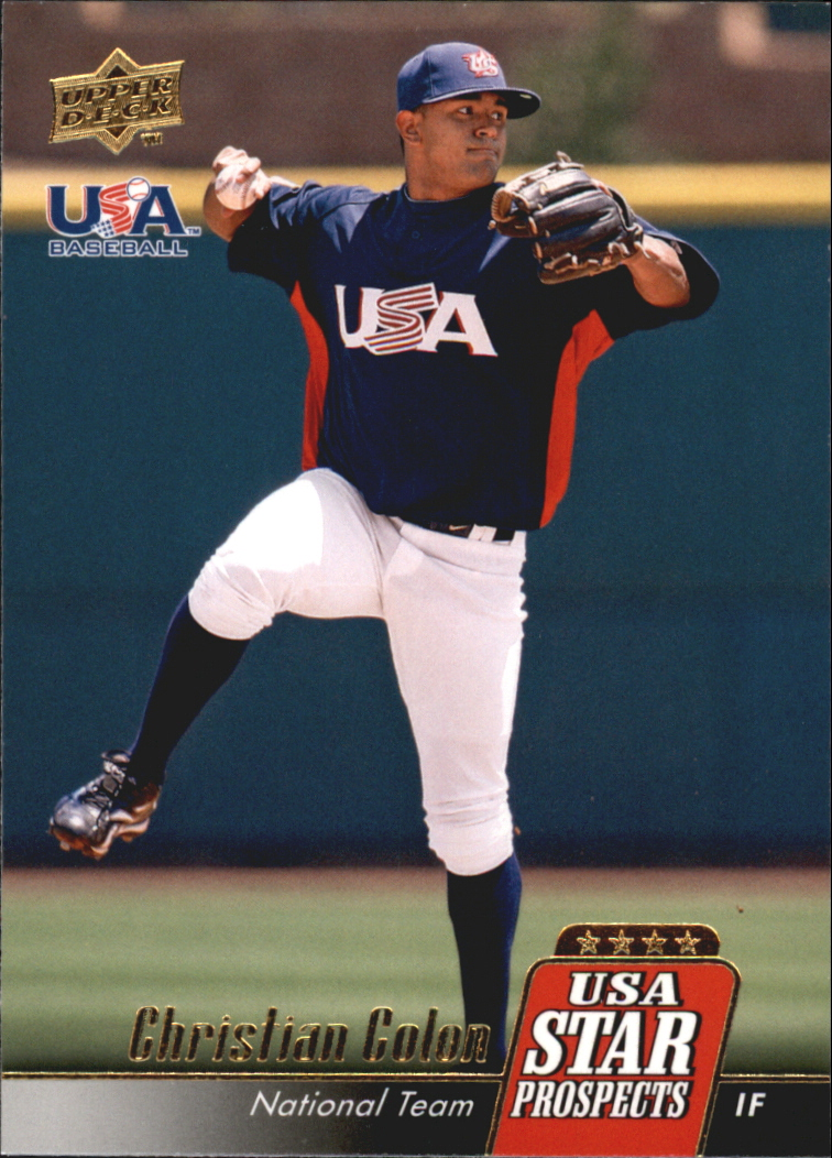 2009 Upper Deck Signature Stars USA Star Prospects #USA26 Christian Colon