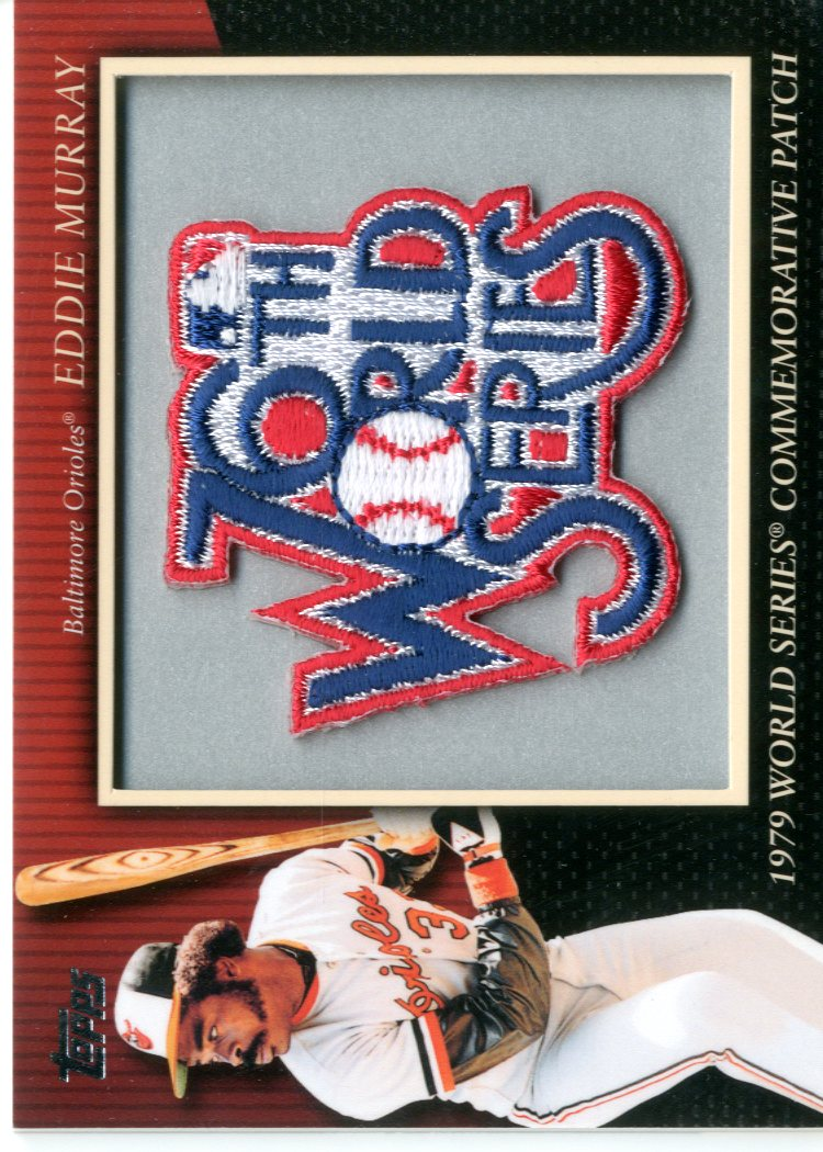 2010 Topps Commemorative Patch #MCP73 Eddie Murray