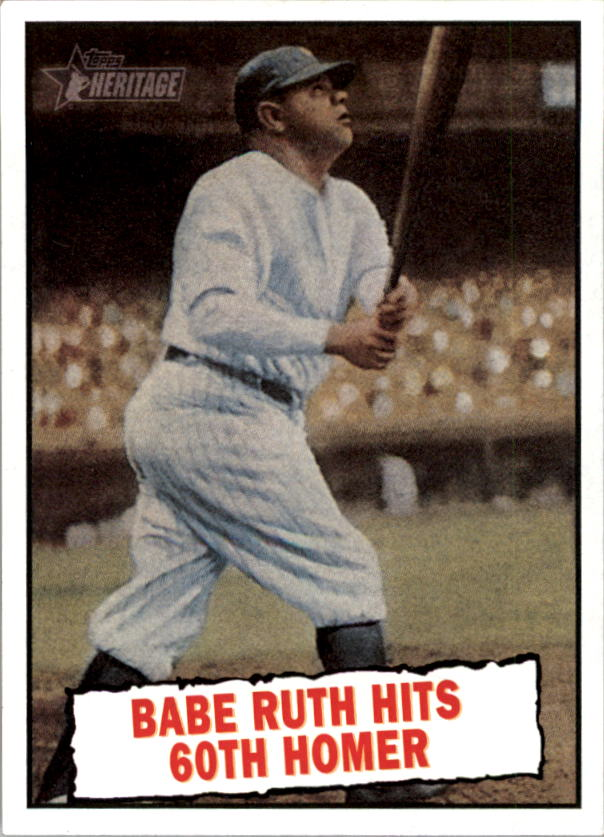 2010 Topps Heritage #401 Babe Ruth BT