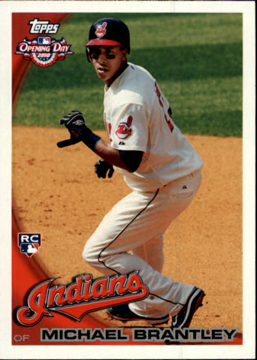 2010 Topps Opening Day #218 Michael Brantley RC