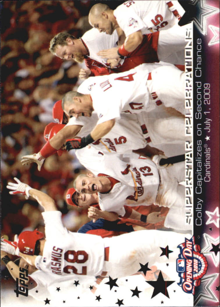 2010 Topps Opening Day Superstar Celebrations #SC6 Colby Rasmus