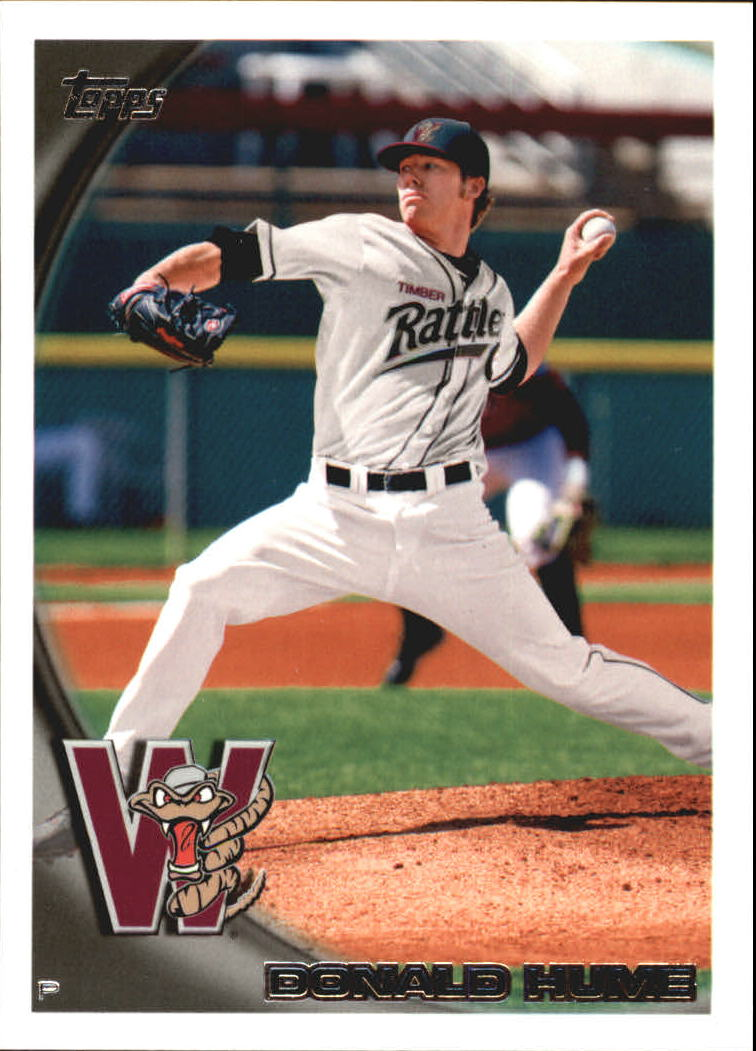 2010 Topps Pro Debut #199 Donald Hume �