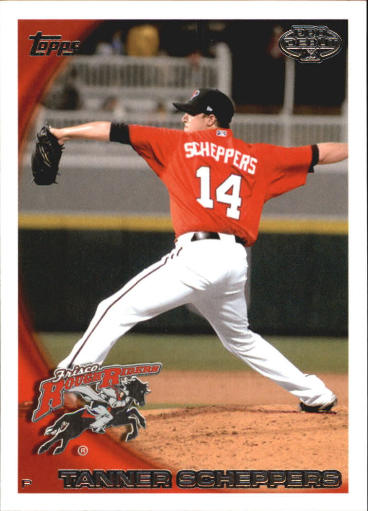 2010 Topps Pro Debut #222 Tanner Scheppers