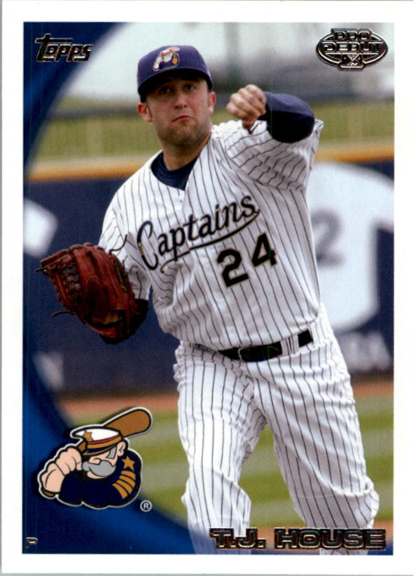 2010 Topps Pro Debut #298 T.J. House