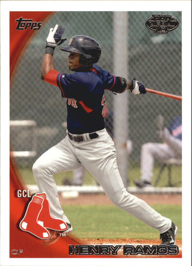 2010 Topps Pro Debut #363 Henry Ramos