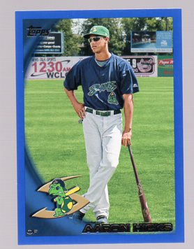 2010 Topps Pro Debut Blue #2 Aaron Hicks