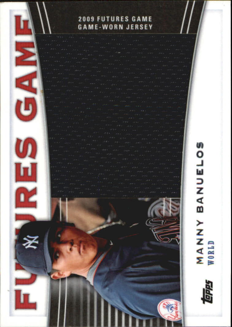 2010 Topps Pro Debut Futures Game Jersey #MBA Manny Banuelos