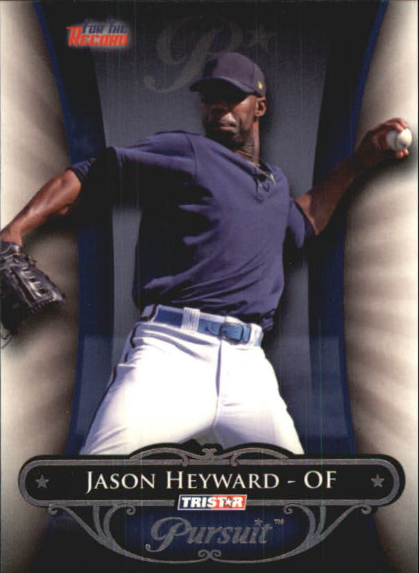 2010 TRISTAR Pursuit #56b Jason Heyward VAR SP