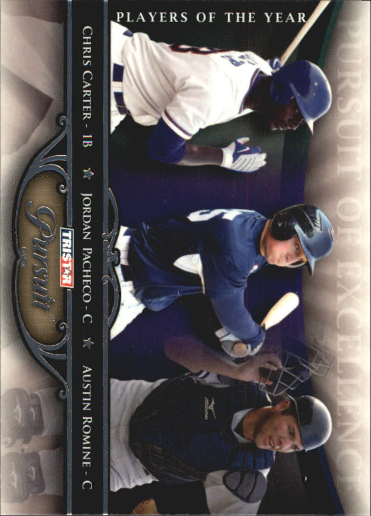 2010 TRISTAR Pursuit #72 Chris Carter/Jordan Pacheco/Austin Romine