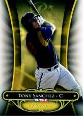 2010 TRISTAR Pursuit Gold #2b Tony Sanchez VAR