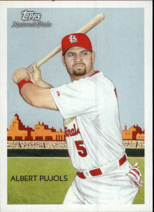 2010 Topps National Chicle #1 Albert Pujols