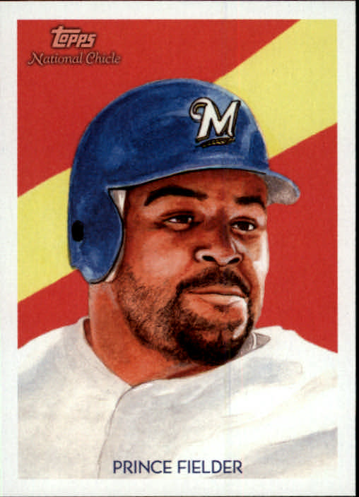 2010 Topps National Chicle #5 Prince Fielder