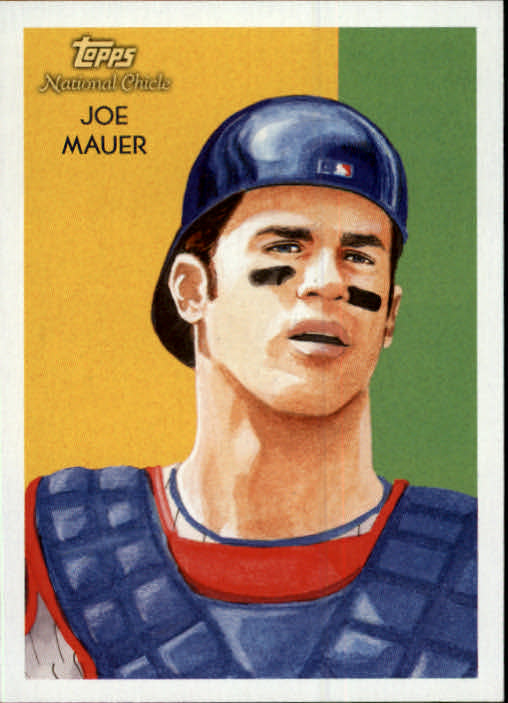 2010 Topps National Chicle #7 Joe Mauer
