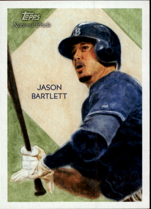 2010 Topps National Chicle #8 Jason Bartlett