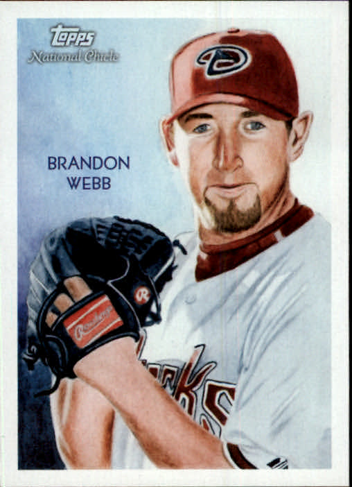 2010 Topps National Chicle #9 Brandon Webb