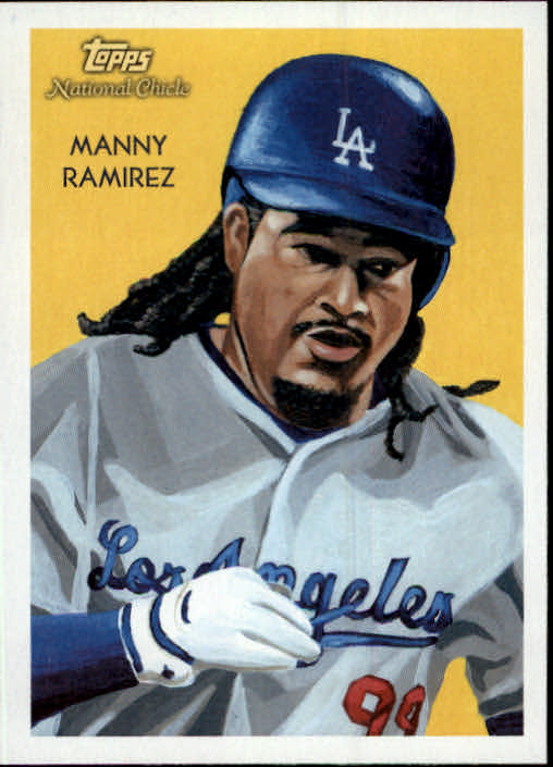 2010 Topps National Chicle #10 Manny Ramirez