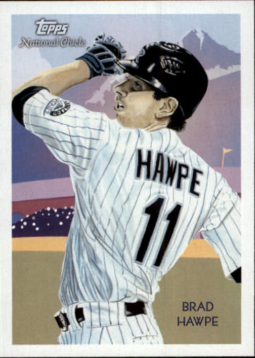 2010 Topps National Chicle #15 Brad Hawpe