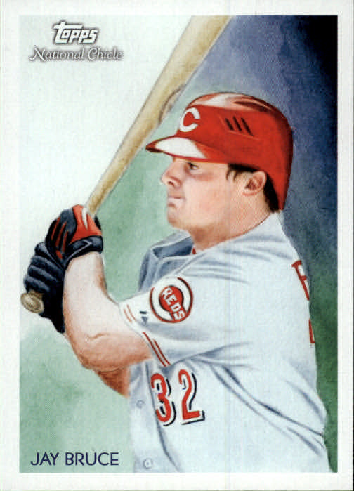 2010 Topps National Chicle #19 Jay Bruce