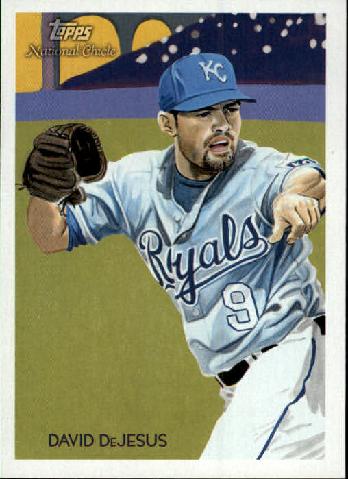 2010 Topps National Chicle #20 David DeJesus
