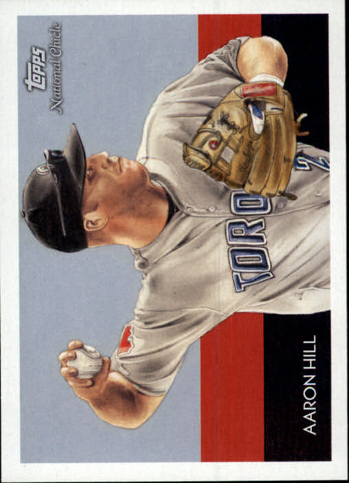 2010 Topps National Chicle #25 Aaron Hill