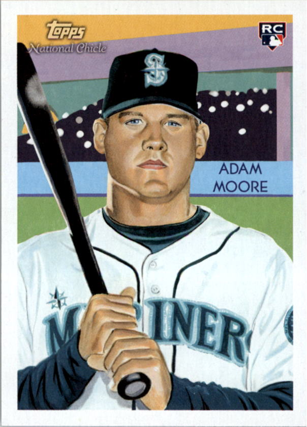 2010 Topps National Chicle #270 Adam Moore RC