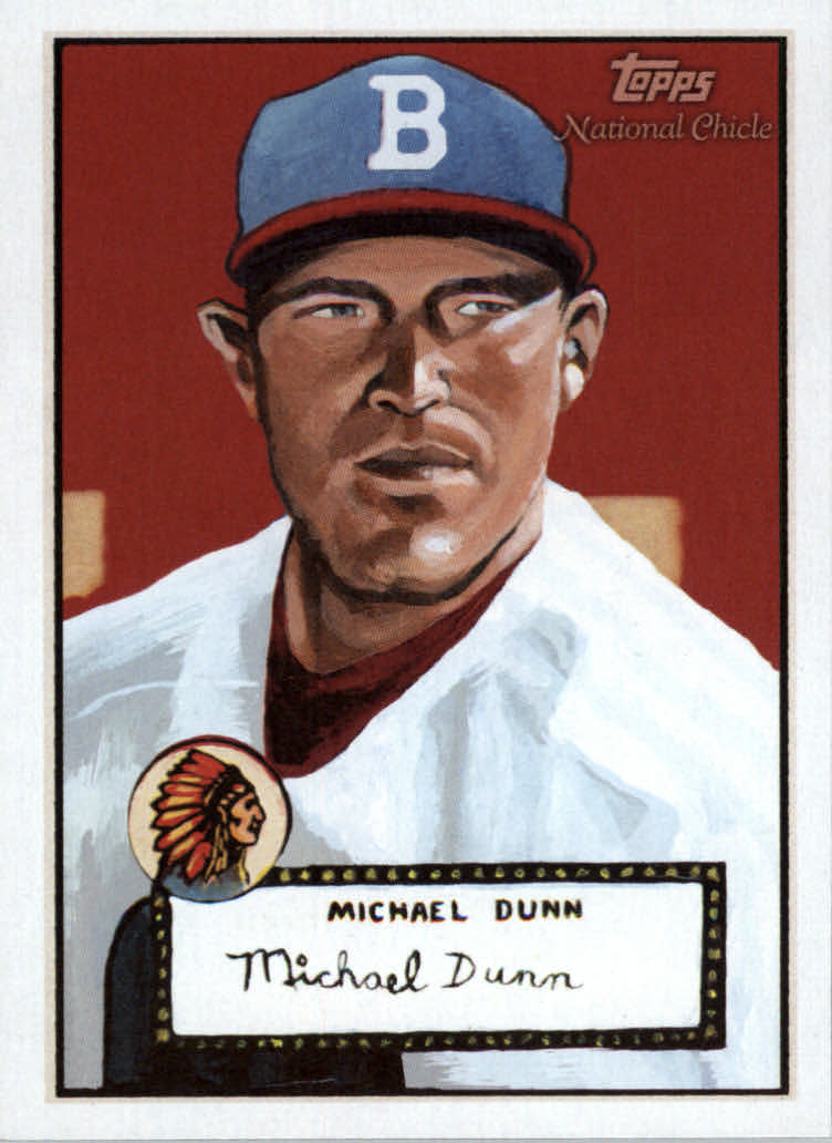 2010 Topps National Chicle #326 Michael Dunn SP RC