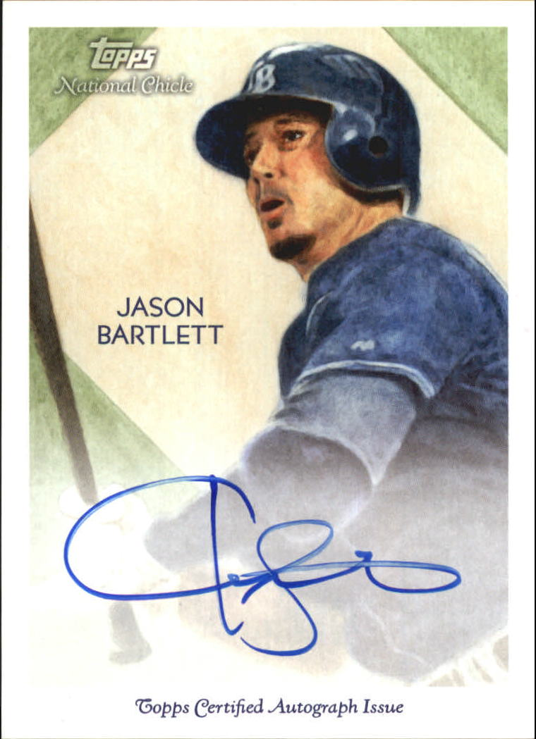 2010 Topps National Chicle Autographs #JB Jason Bartlett A